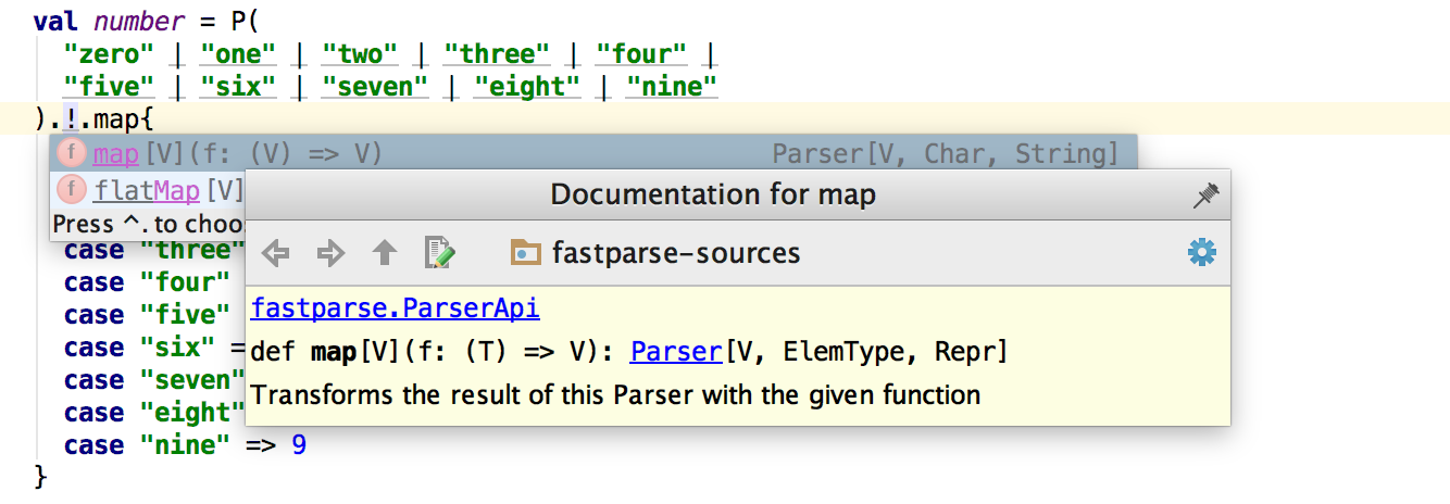 Easy Parsing with Parser Combinators